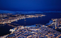 Antatt - Tromsø by night...