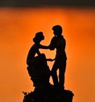 Romantisk silhuett