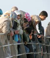 Damene på broen