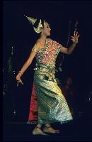 Dansende dame